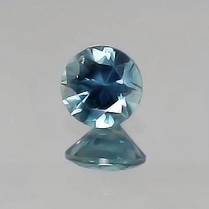 5.5mm Round Medium Greenish-Blue Montana Sapphire